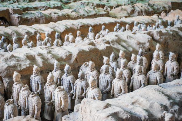 Xi'an: l'Esercito di Terracotta
