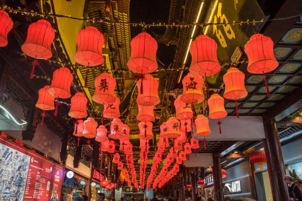 Shanghai: la città vecchia